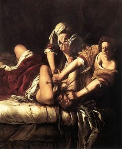 Judith Beheading Holofernes by Gentilischi