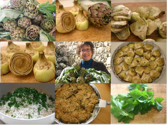 Artichoke preparation