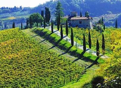 Farmhouse in Chianti Tuscany