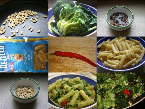 Making Sicilian Pasta with Broccoli