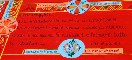 Sicilian go kart riddle