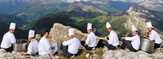 peaks of gastronomy chefs