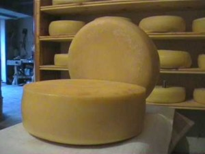 maiorchino cheese wheels