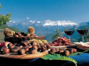Torggelen new wine festival in Italy