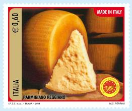 parmigiano cheese stamp