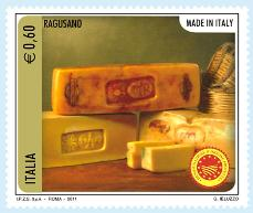 Italian cheese stamp