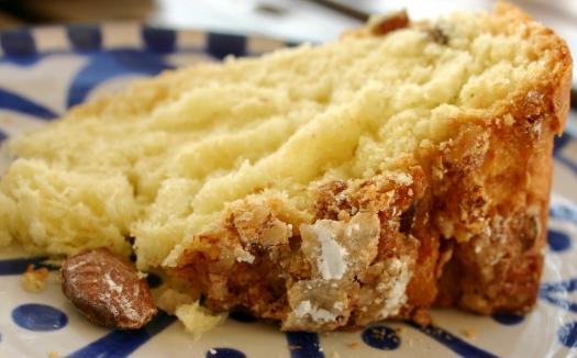 slice of Italian Easter cake