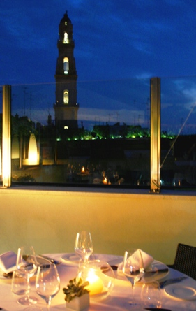 rooftop restaurant in Lecce