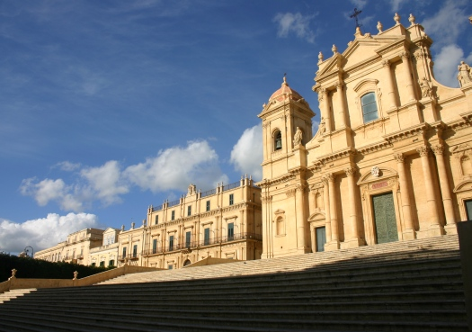 Baroque cathedral in Noto Sicily