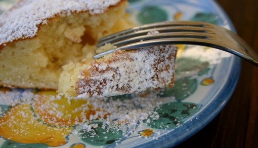 Ricotta cake from Tuscany