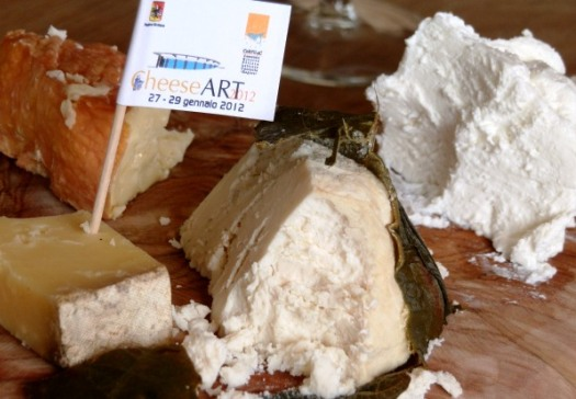 Artisan cheese in Sicily