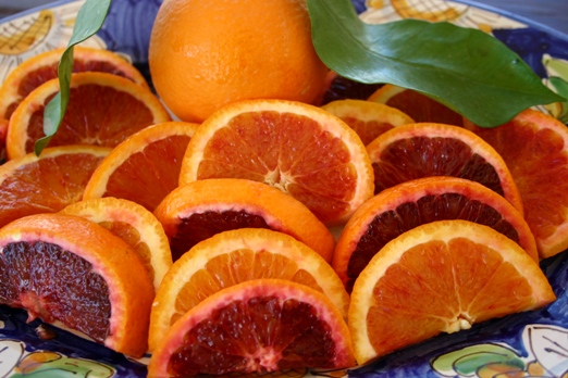 blood oranges of Sicily