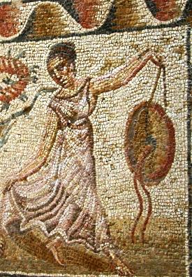 Villa del Tellaro mosaic in Sicily