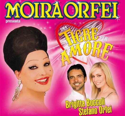 circus poster Moira Orfei