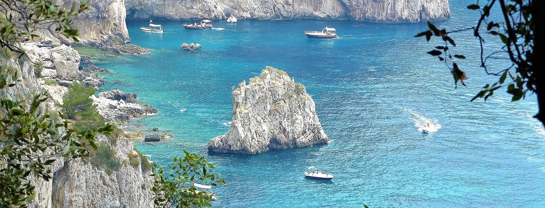 Best coastal view island of Capri
