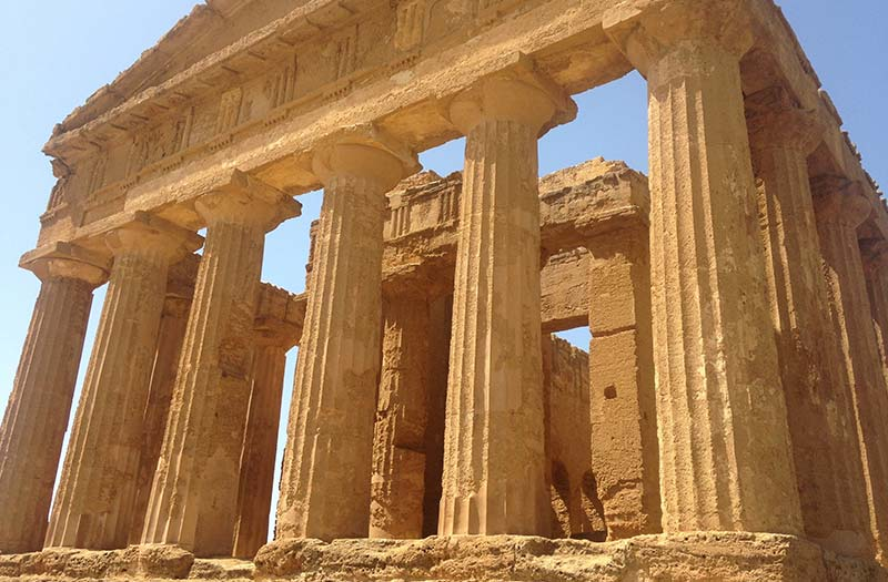 Greek temple, Agrigento Sicily