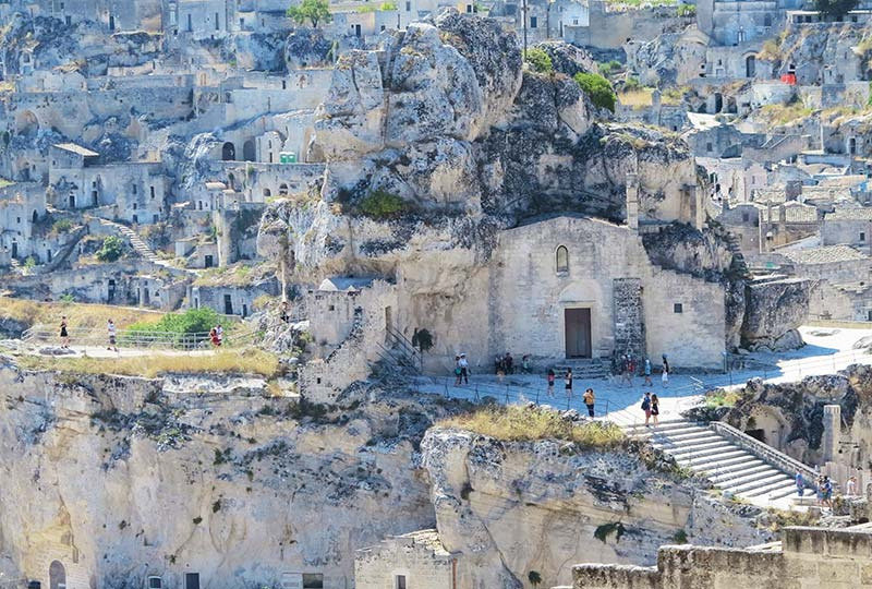 Guided walking tour of Matera, capital of culture 2019