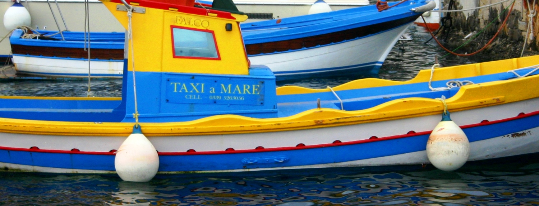 Boat Taxi in Sicily