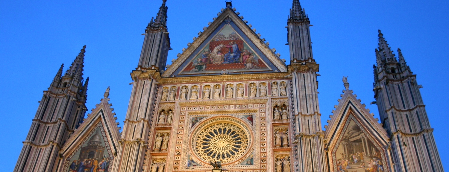 Cathedral in Orvieto Italy